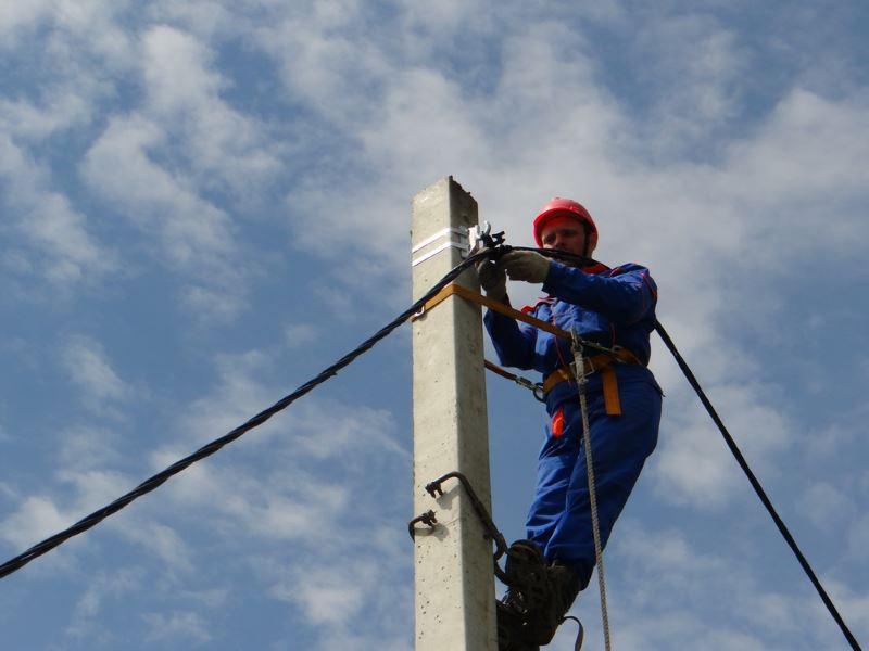 Монтаж воздушных и кабельных линий электроснабжения в Крыму и Севастополе