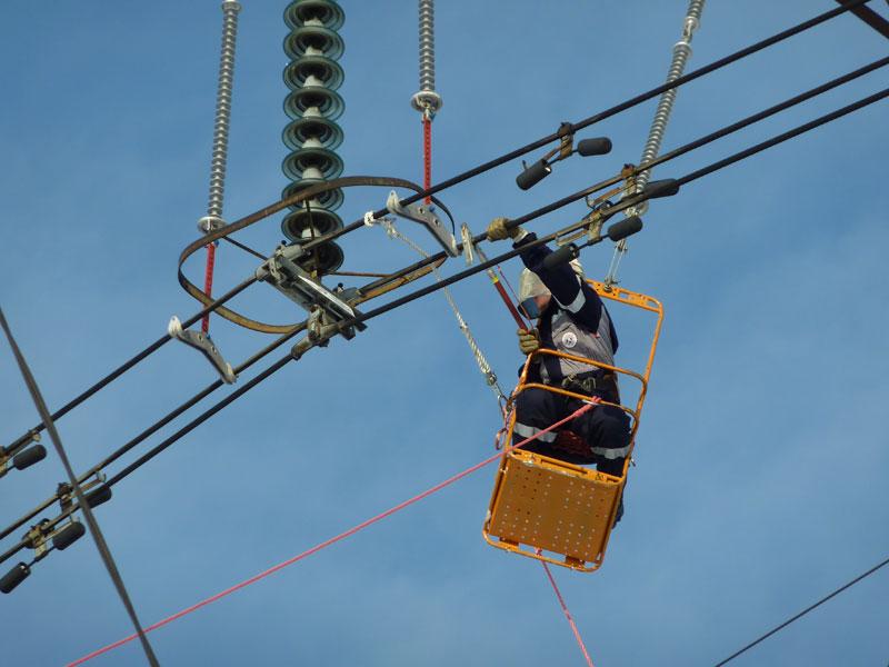Монтаж воздушных и кабельных линий электроснабжения